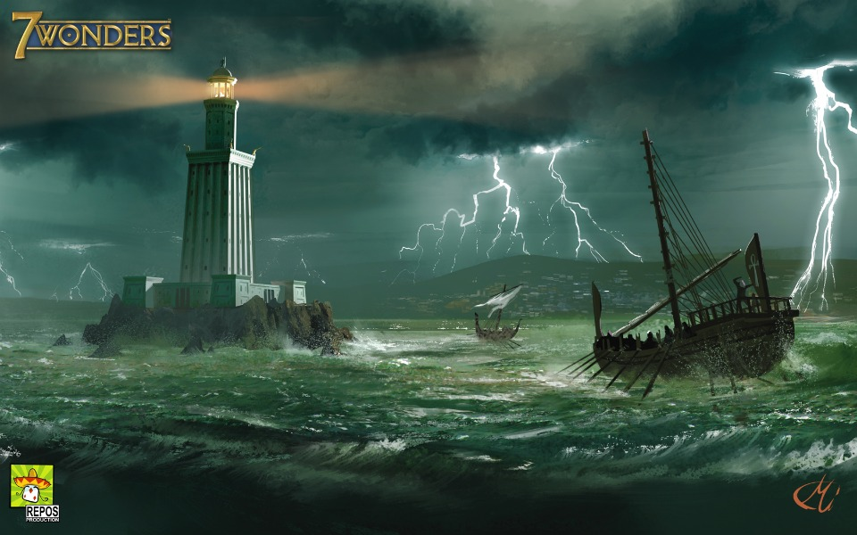 Lighthouse of Alexandria Present Day