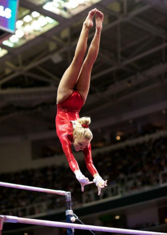 USA Gymnastics  Jones captures the 2012 Nastia Liukin Cup