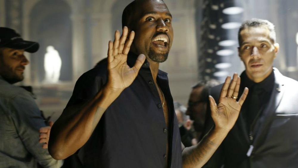 kanye west hands up reuters